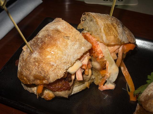 Pork Vietnamese sandwich