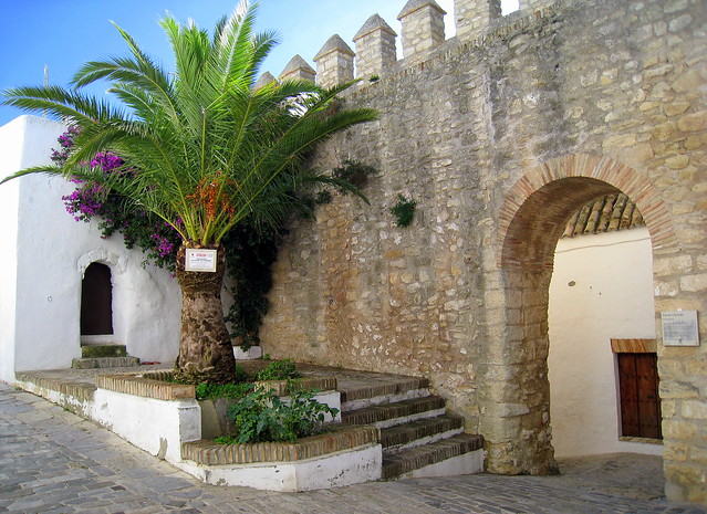 "The Puerta Cerrada (""Closed Gate""), one of the original archways in the old walls of Vejer de la Frontera, Cádiz, Spain"