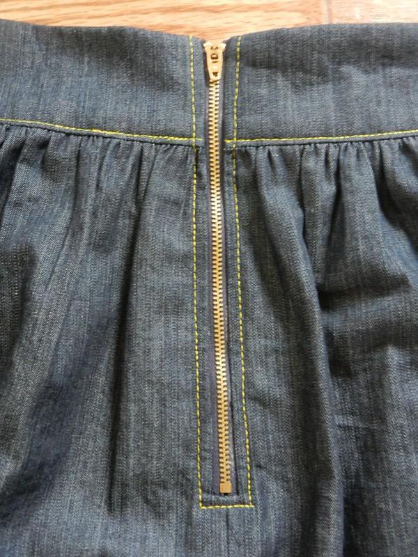 Brumby Skirt Zipper