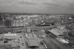 Royal Victoria Dock and Excel Centre