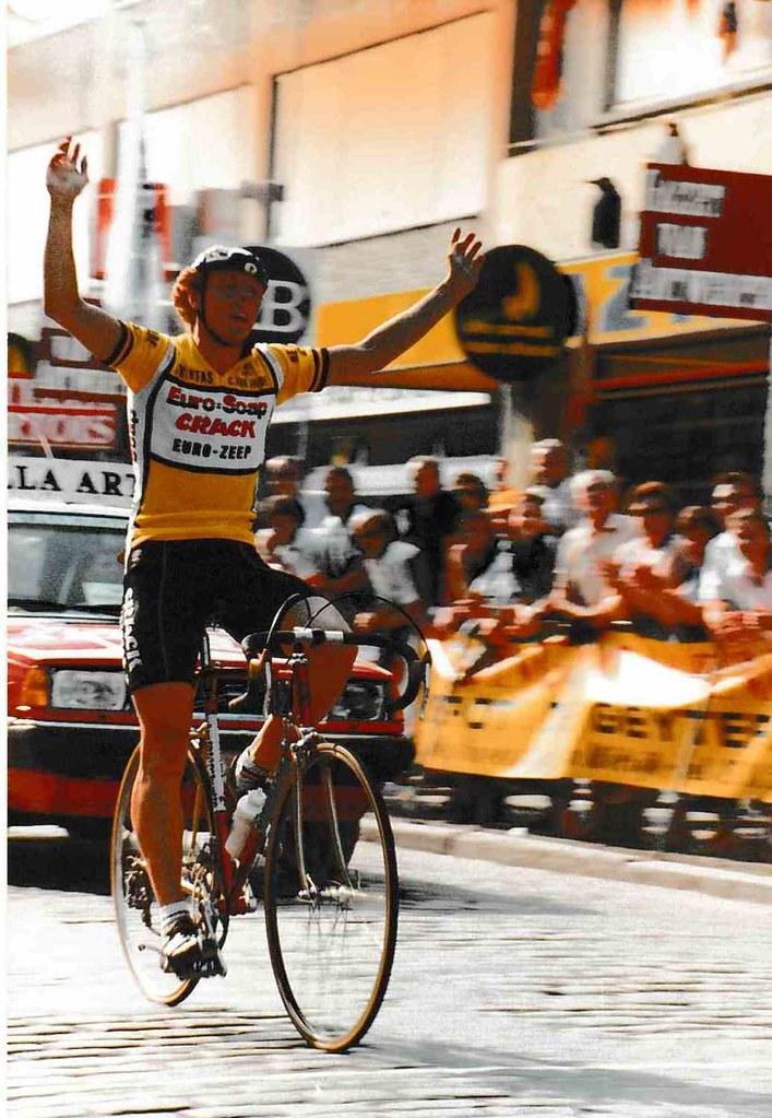 John De Keukelaere vittorioso in maglia EuroSoap - grazie John