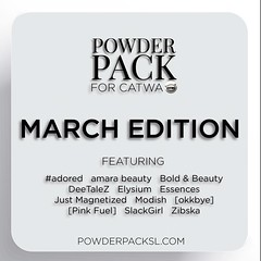 Pre-order Powder Pack - March 2017