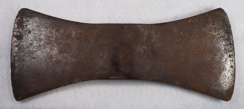 RD15318 Vintage Made in Sweden Double Bit Axe Head 11.5 inch DSC09246