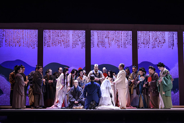Production photo of Madama Butterfly © ROH 2017. Photograph by Bill Cooper