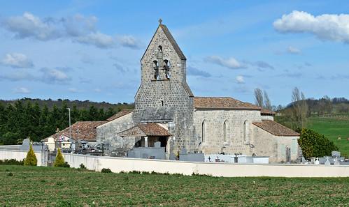 Saint Astier - L'Eglise 01