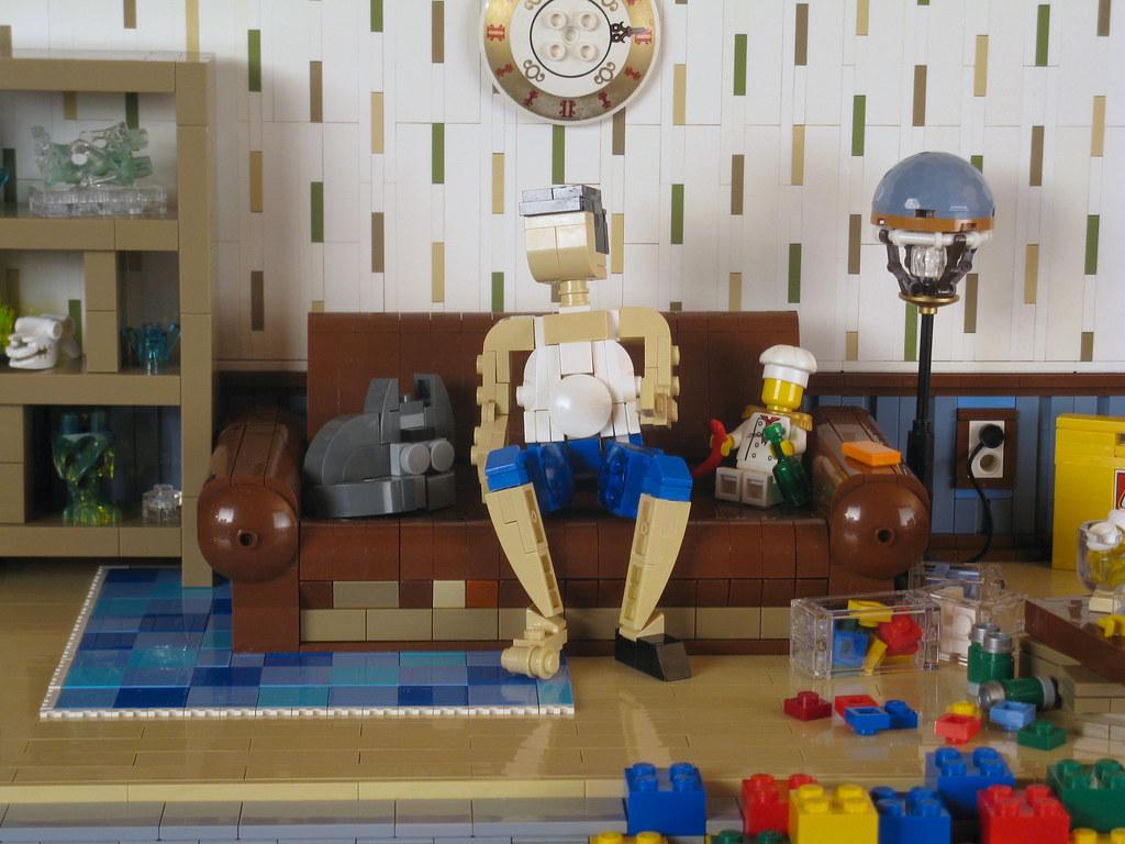 Кто ты без своих кубиков?! (custom built Lego model)