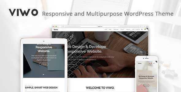 Viwo WordPress Theme free download