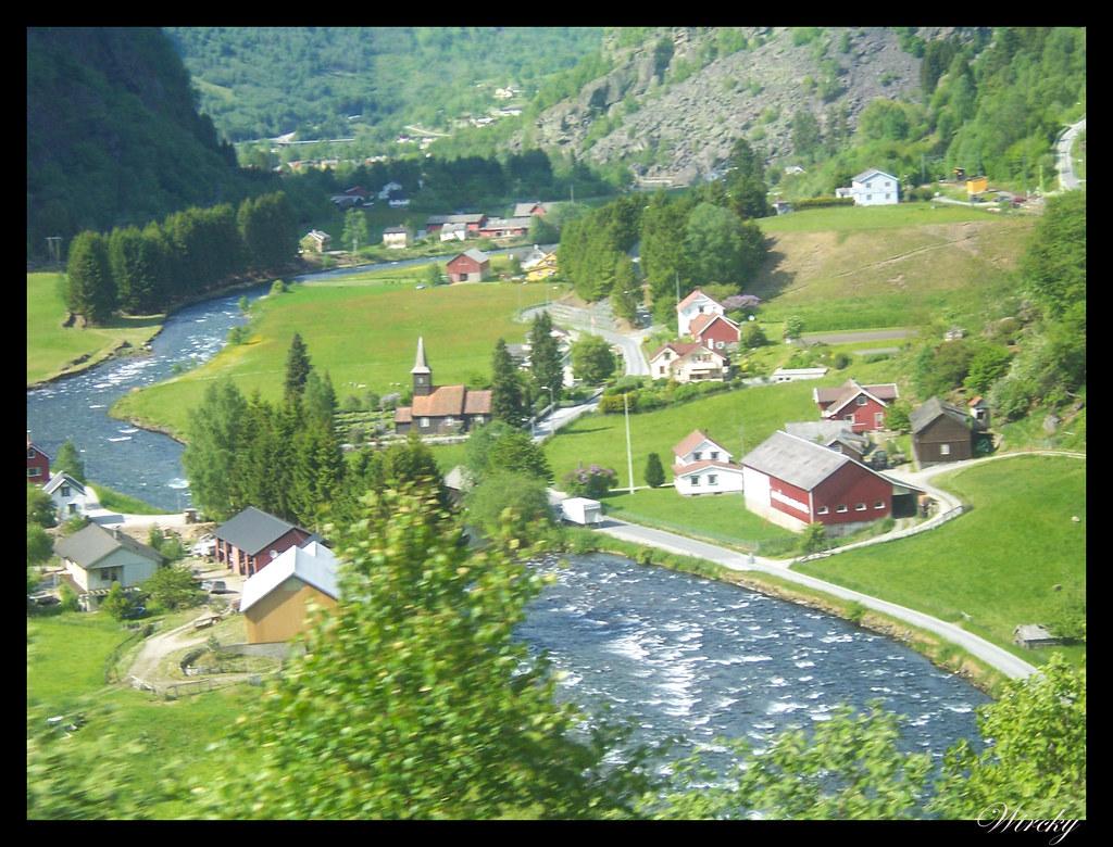 Ruta viaje fiordos noruegos - El valle de Flam