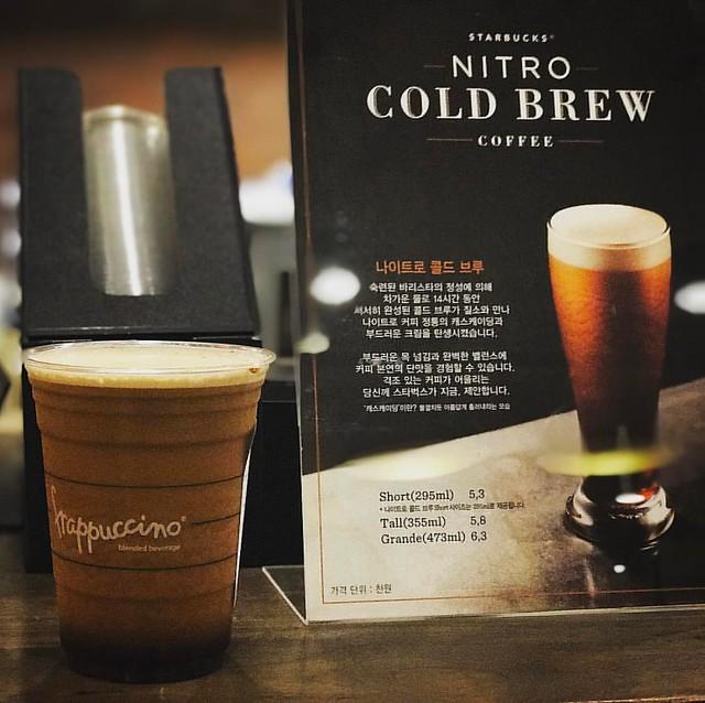 대박 겁나 맛있져 ㅠ 우리매장도 들어오지.. ㅠ #스타벅스 #스타벅스커피코리아 #나이트로 #나이트로콜드브루 #콜드브루 #나트로 #수지풍덕천점 #SCK #Starbucks #nitro #coldbrew #nitrocoldbrew