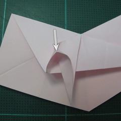 การพับกระดาษเป็นไดโนเสาร์ทีเร็กซ์ (Origami Tyrannosaurus Rex) 020