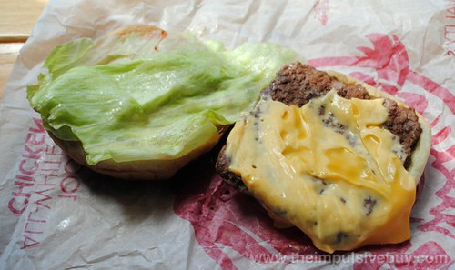 Wendy's Steakhouse Jr. Cheeseburger Deluxe Topless 1