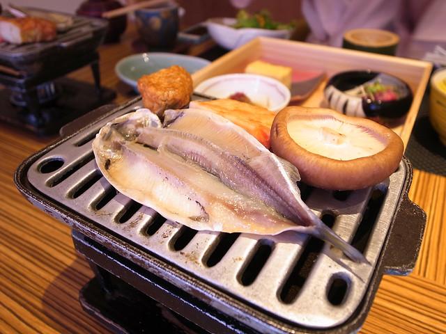 嵯峨沢 館朝食