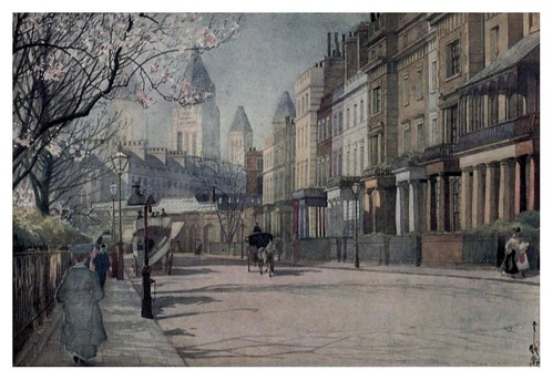 020-Primavera en Onslow Square-Yoshio Markino -The library Time Machine