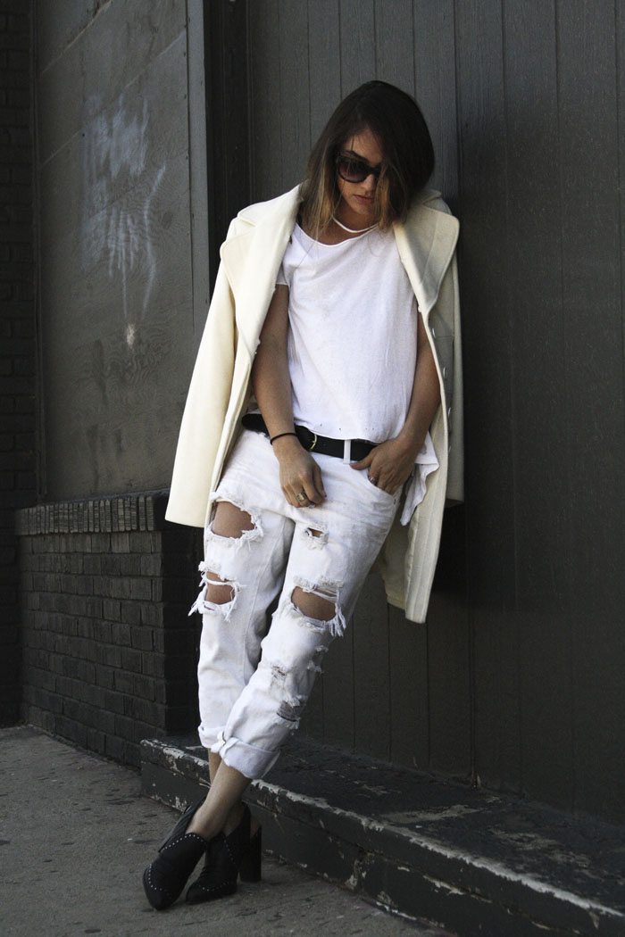 Fringe of the CRO | Modern White Fashion Uniform