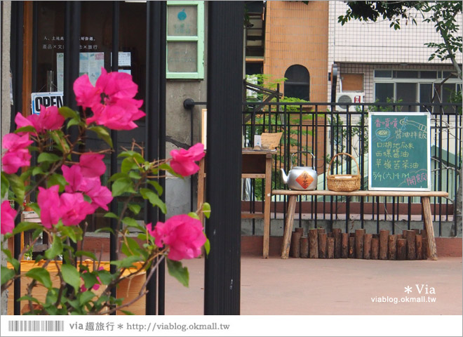【台中新景點】中興街一巷‧范特喜「綠光計劃」~自來水公司舊眷宿舍的新藝文空間33