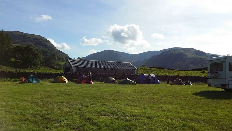 Camp Social Hiking, Chapel House Farm Campsite