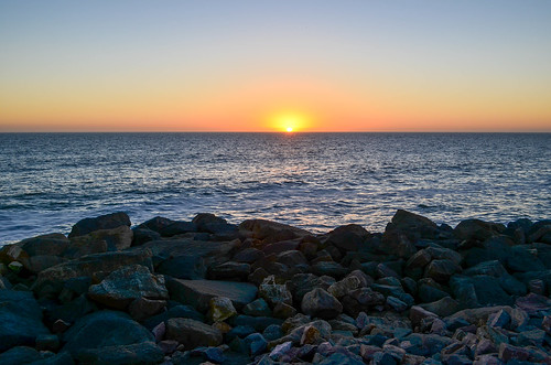 Sunset in Swakopmund