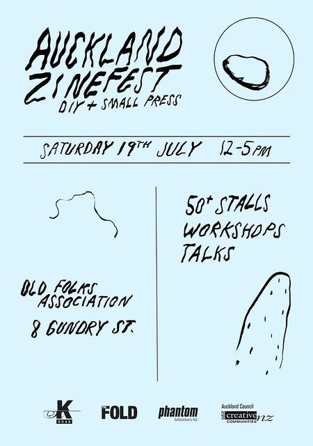 Auckland Zinefest 2014 Poster