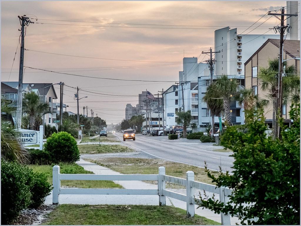 garden city map grand strand south carolina mapcarta