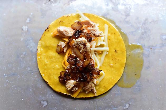 Chicken & Green Chile Enchiladas