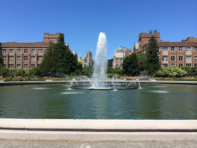 Drumheller Fountain, University of Washington