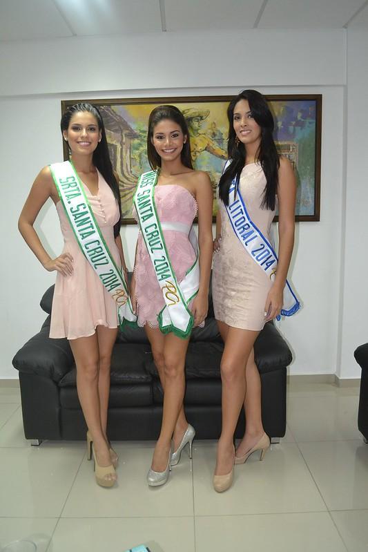 Ganadoras del Miss Santa Cruz 2014