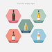 Icons for whisky night by H. Svanegaard