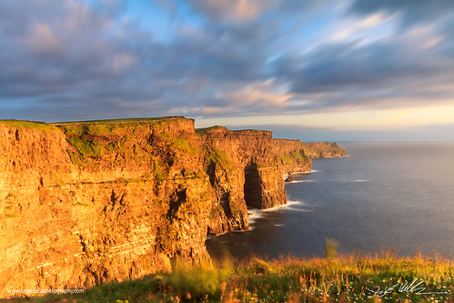 Glowing Cliffs of Moher