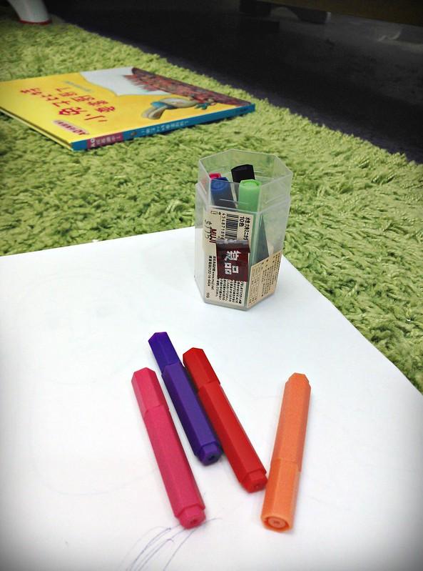 24幼兒蠟筆MUJI色筆