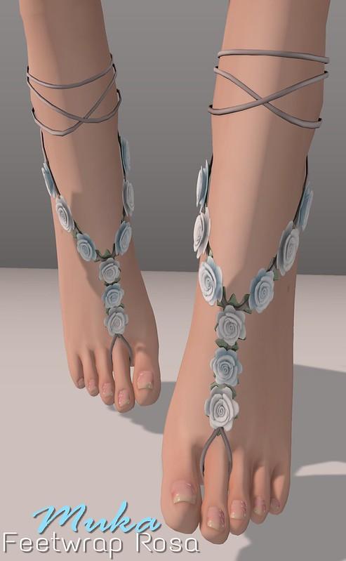 Muka Feetwrap Rosa