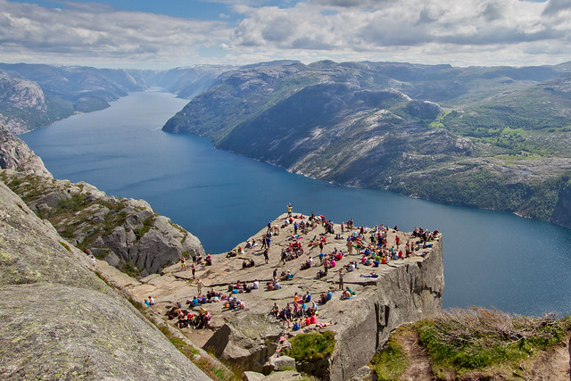 Preikestolen (The Pulpit), the OMG View