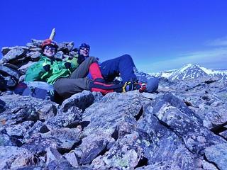On Summit of Mt. Hope