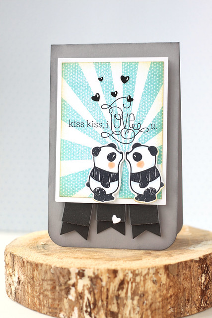 kiss kiss, i love you {mama elephant stamp highlight}