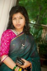 girl, trunk, female, photo shoot, lady, sari, beauty,