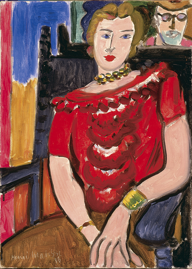 Henri Matisse, The Red Blouse