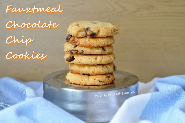 paleo oatmeal chocolate chip cookie