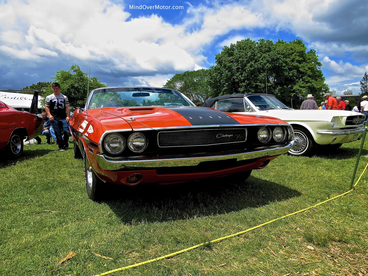1970 Dodge Challenger R:T Convertible Front Angle