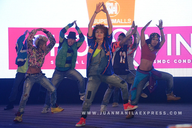 PINOY PRIDE. The Philippine All-Stars hip-hop group performed during the Shop and Win SMDC Condo promo launch.