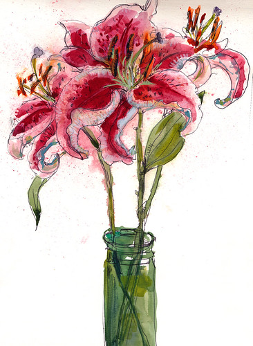 May 2014: Lillies