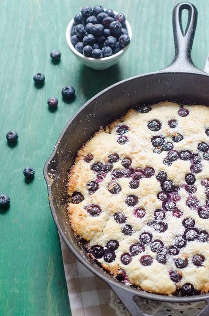 Big Blueberry Pancake