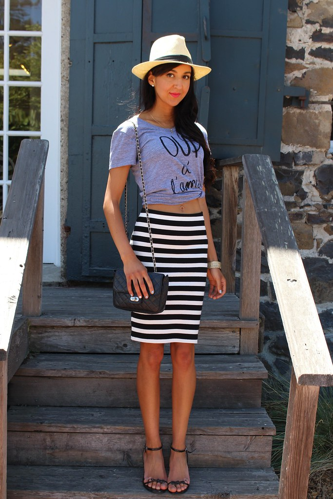 Splurge vs Save : Striped Skirt 2
