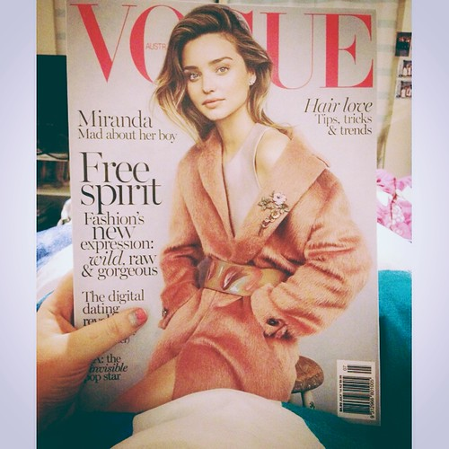 The very first thing I buy when I get paid is vogue. #itsavoguething