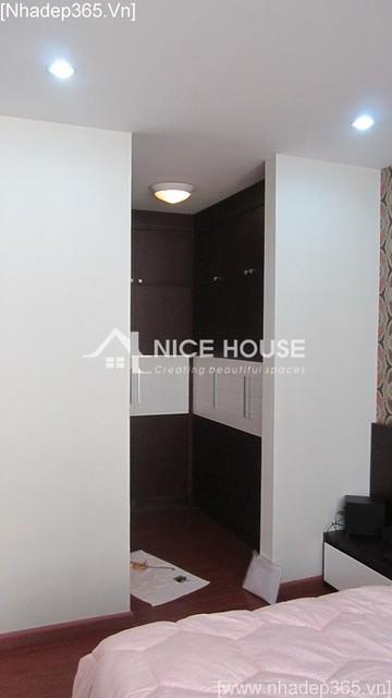 Thi công hoàn thiện nội thất nhà chị Nga - Hà Nội_15