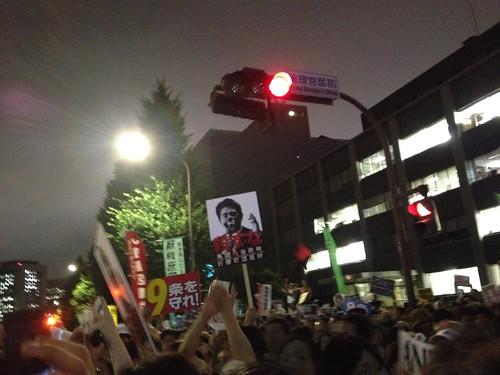 20140630 総理官邸前抗議デモ01