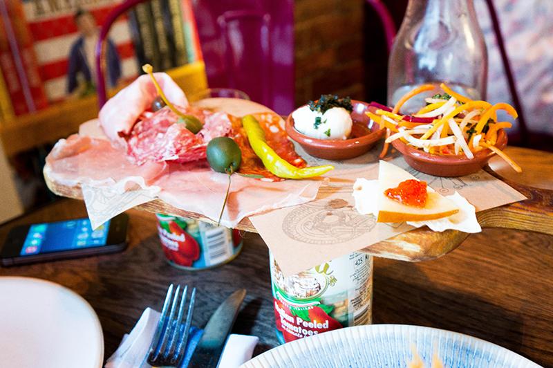 Jamie's Italian Oxford: Meat Platter | www.latenightnonsense.com