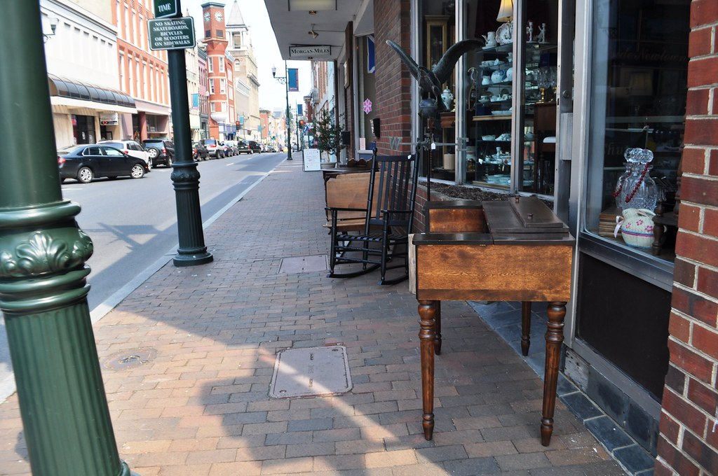 Find Antiques and More in the Red Brick District of Staunton, Va.