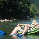 Sandy River Float in celebration of Blaine's 31st Birthday