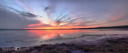 sunset sky cloud lake sunrise canon mongolia 1855 nuur 40d heavenguest ugiin