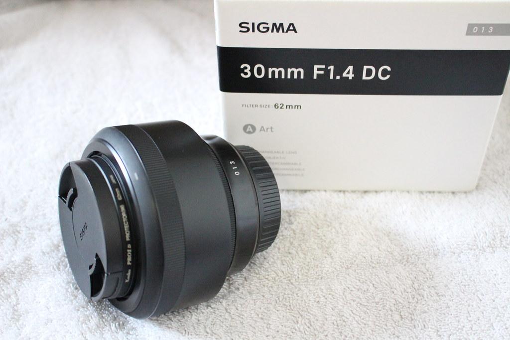 SIGMA 30mm F1.4 DC HSM