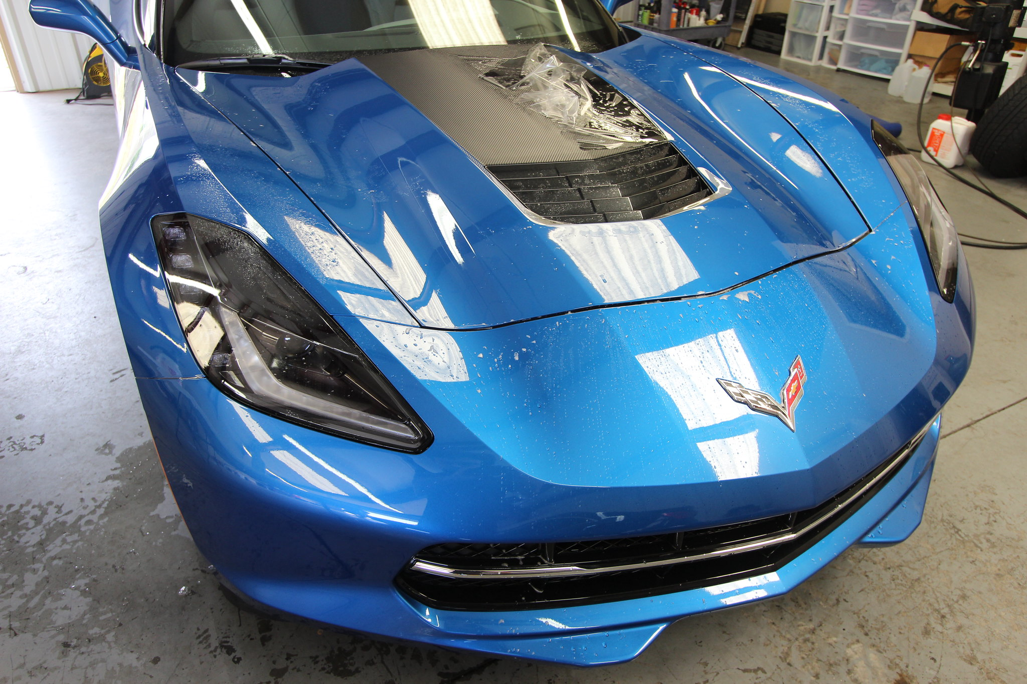 Laguna Blue Corvette Stingray Atlanta